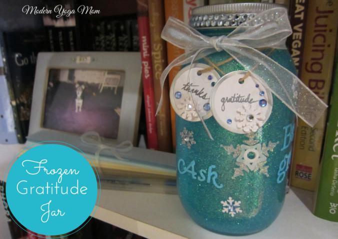 Frozen Gratitude Jar